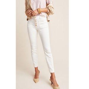 Pilcro The Letter Press Legging White Jeans